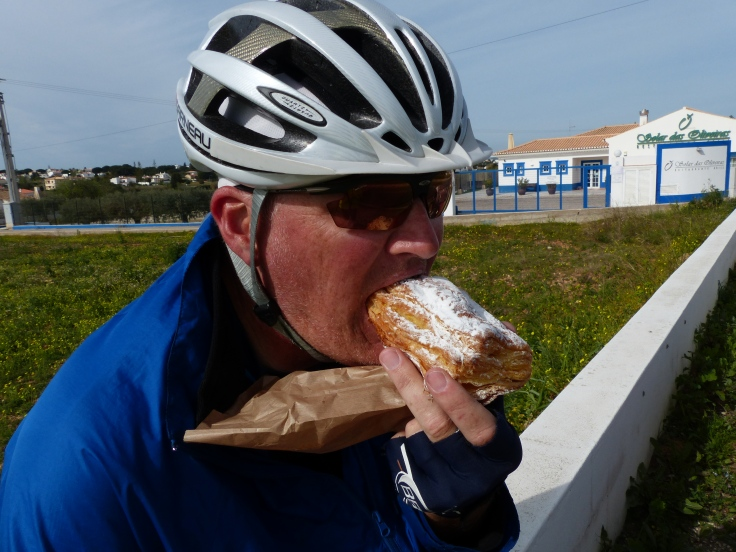 Steve's diet of choice at the moment for breakfast, elevenses and lunch!