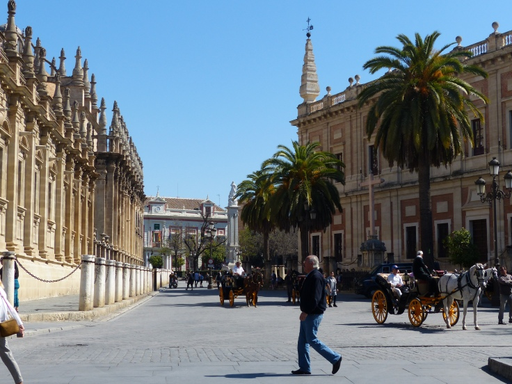 The streets of Seville