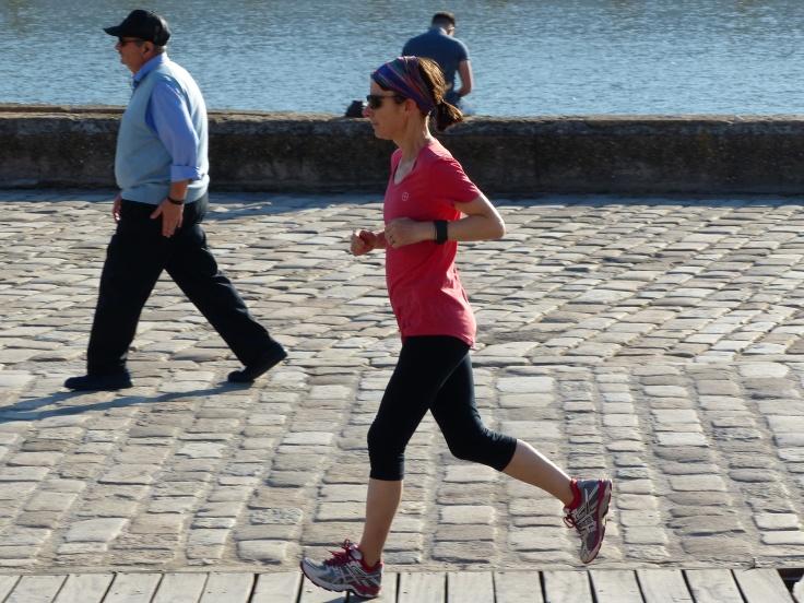 I finally got to run in Seville!