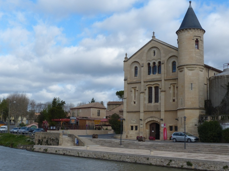 The village of Ventenac-en-Minervois
