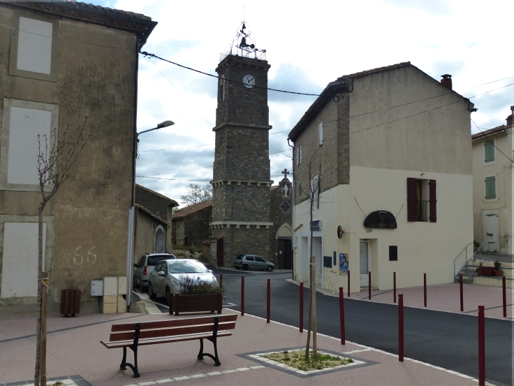 The village of Roubia