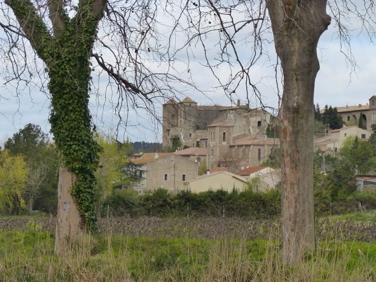 The village of Argens-Minervois