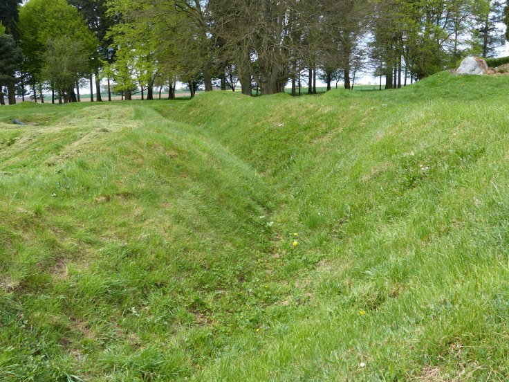The trenches at Beaumont-Hamel