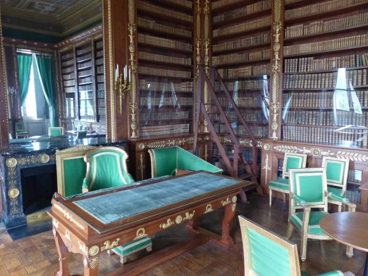 Napoleon's library - a room I wouldn't mind having!