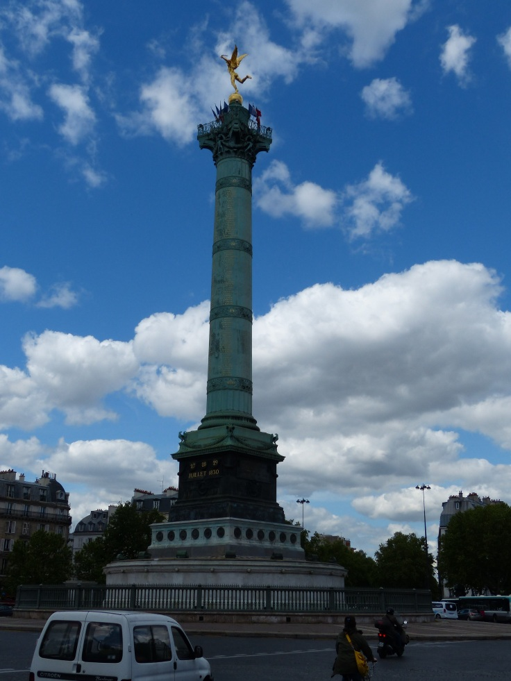 The monument at Bastille