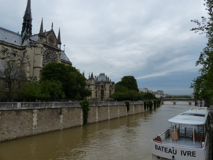 Strolling by the Seine