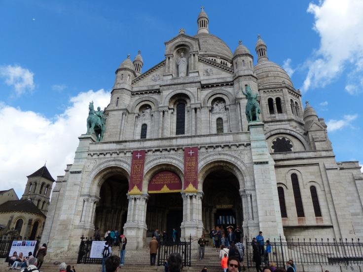 The Basilique du Sacre-Coeur