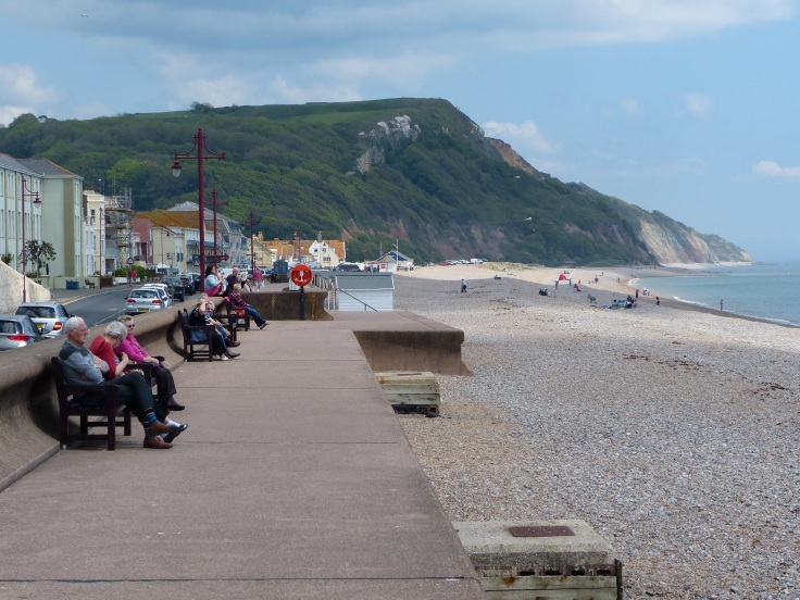 The Seaton seafront
