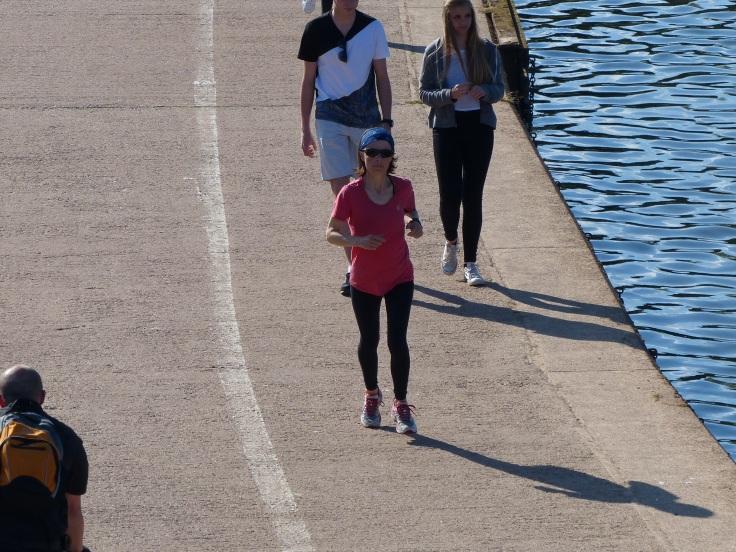 An enjoyable 7km run on tired legs!