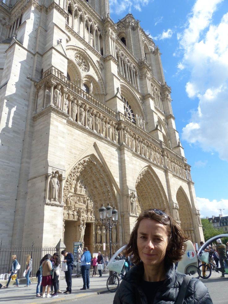 We're at Notre Dame Cathedral!