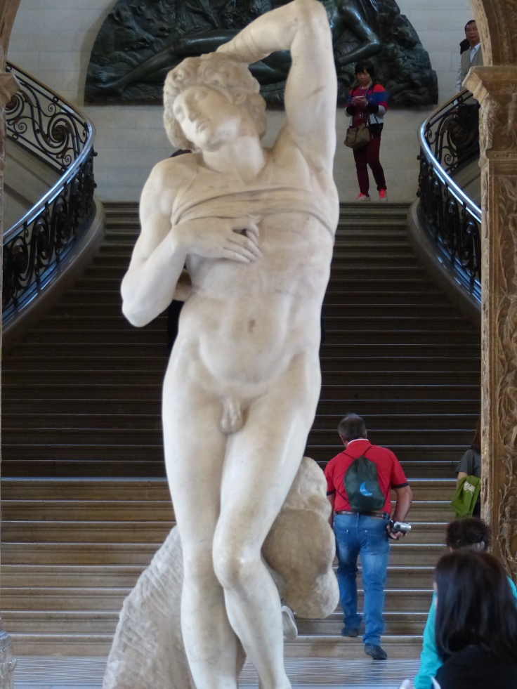 This is a Michelangelo, 'The Dying Slave'