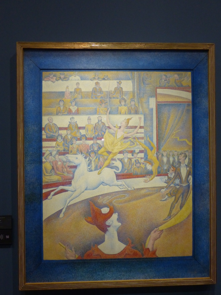 'The Circus' by Seurat