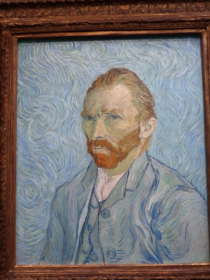 A Van Gogh self portrait