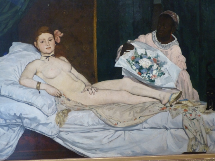 A Manet that I'd often seen in books and now got to see for real!