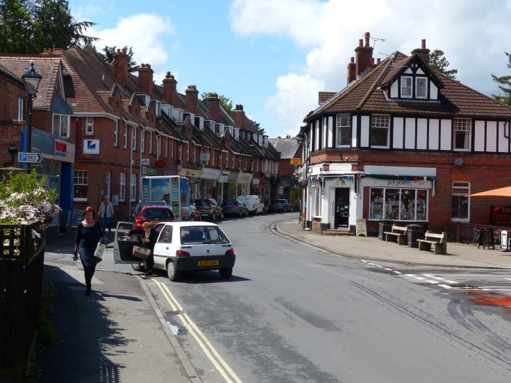 Our little village of Brockenhurst