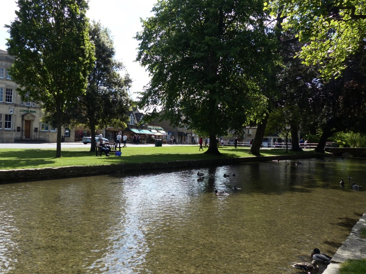 Bourton-on-the-Water's slice of water!