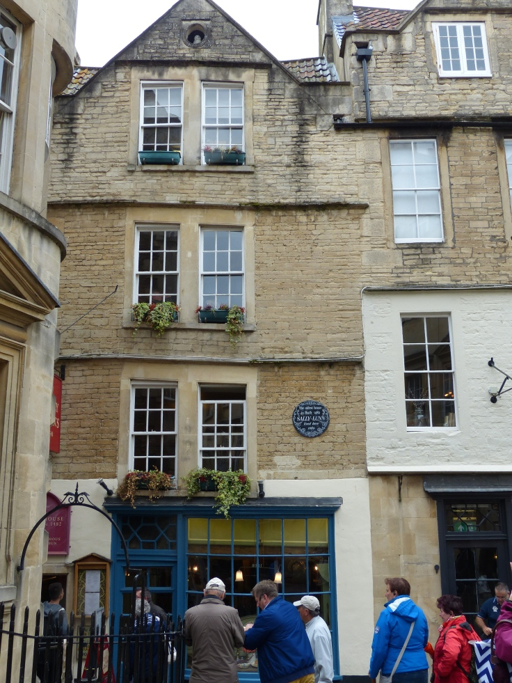 The oldest building in Bath, dating from 1482