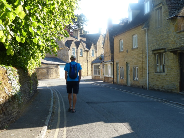 An early morning stroll through Bourton-on-the-Water
