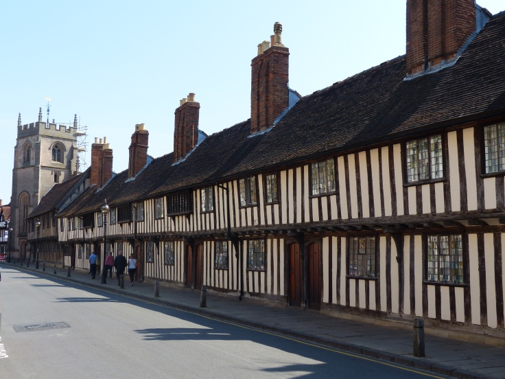 The streets of Stratford-Upon-Avon