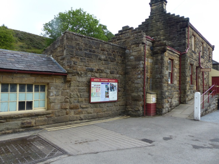 The train station - this was used in filming too.