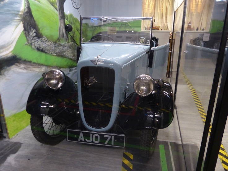 The original Austin Seven used in the TV series