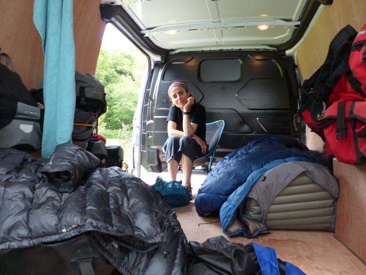 Life in the van
