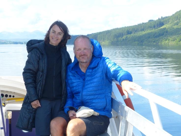 Cruising Loch Ness