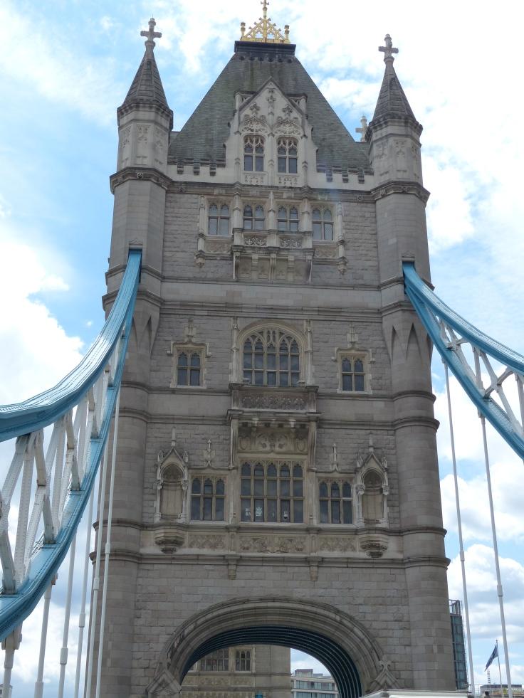 Over the bridge we go