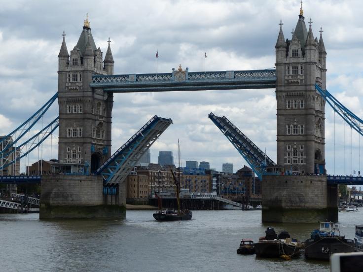 Tower Bridge in action