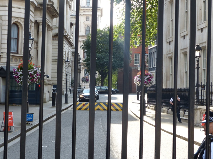 The PM's residence, down there behind those gates!