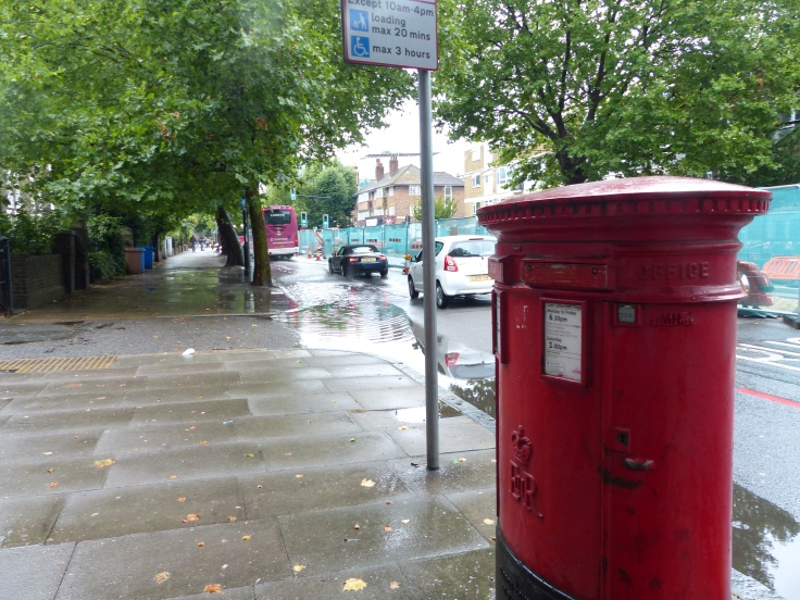 Just a little bit of rain today!