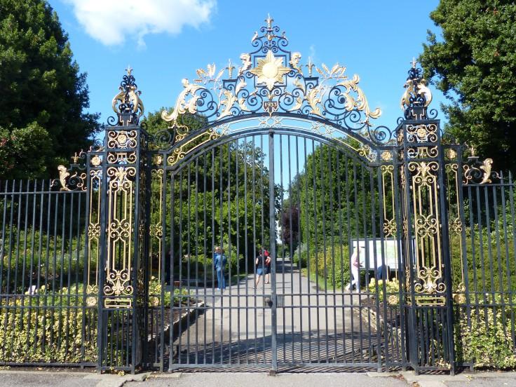 Entering Regent's Park
