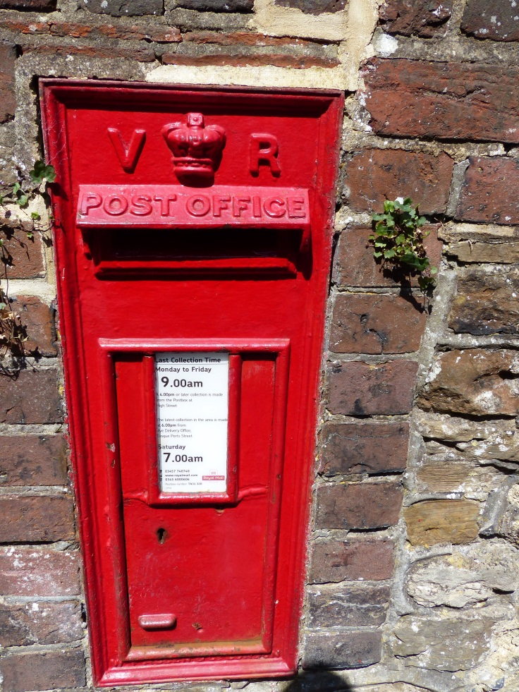 Another letter box that's stood the test of time. This one from Queen Victoria's era