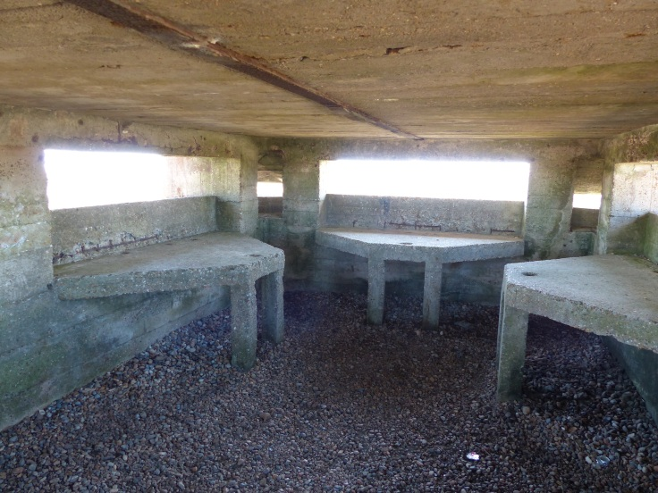 Life inside the pillbox