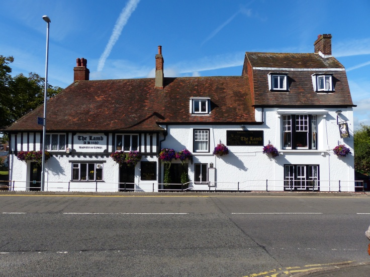 This pub dates from 1240, with a cellar that dates from 1180