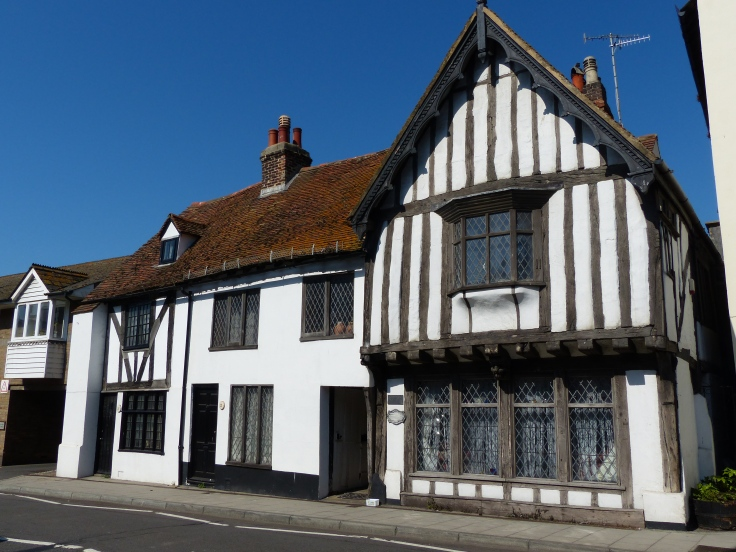 This is thought to be the oldest building in Hastings, possibly the original Court Hall, constructed in 1450