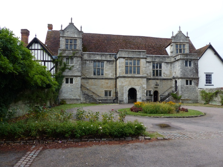 The Archbishops' Palace. This was once held by the Archbishop of Canterbury. It was a manor house, gifted to the archbishops in the 7th / 8th century.