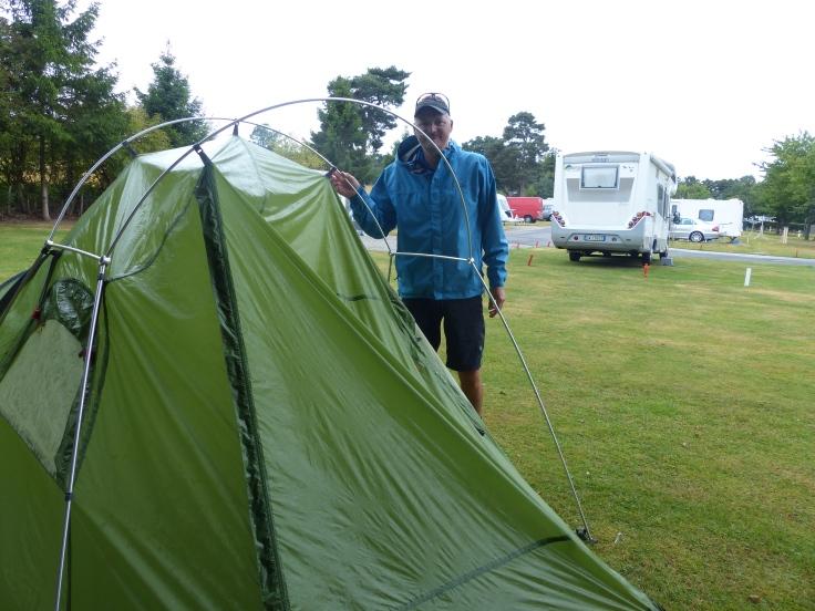 Wet tent again!