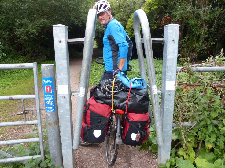 Through we go...