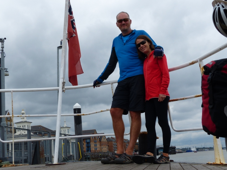 Tooting across to Tilbury