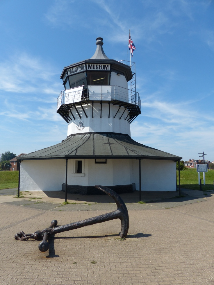 Low Lighthouse was built in 1818 and stood in conjunction with High Lighthouse to guide ships