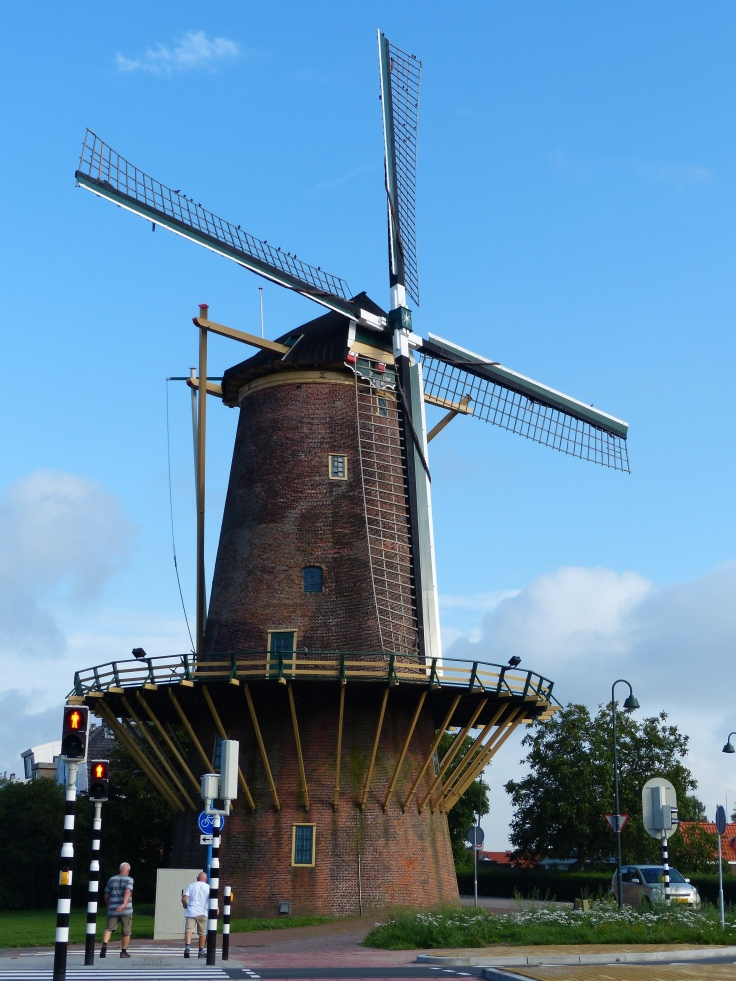 Our first Dutch windmill