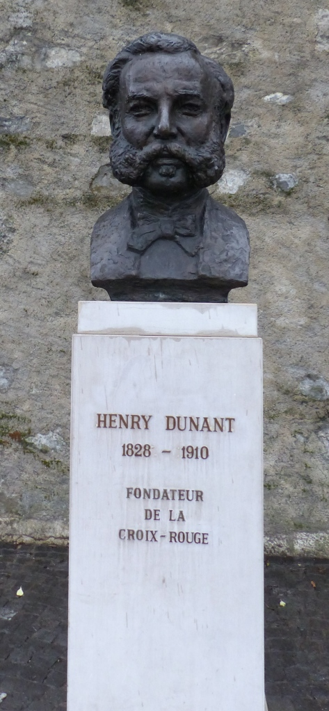 One of the founders of the Red Cross