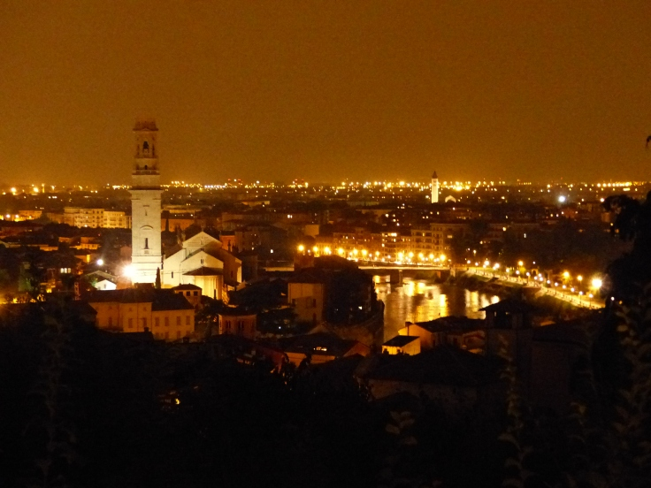 Our view by night