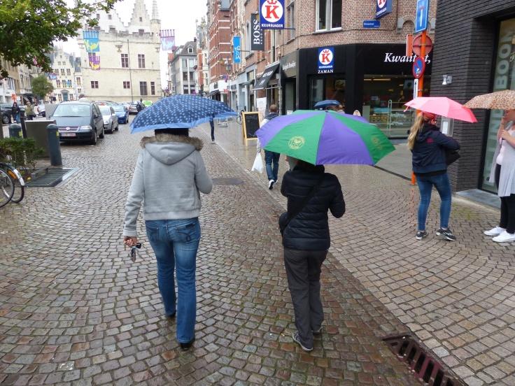 Sorry, we made it rain again!