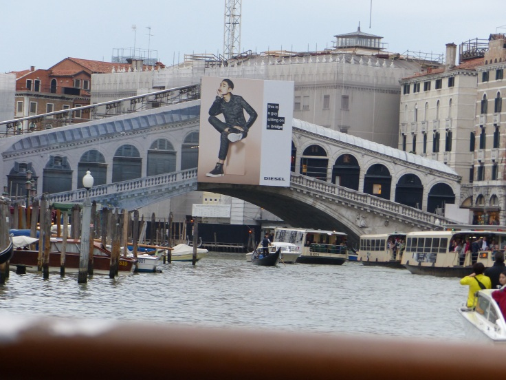 Under the Rialto Bridge