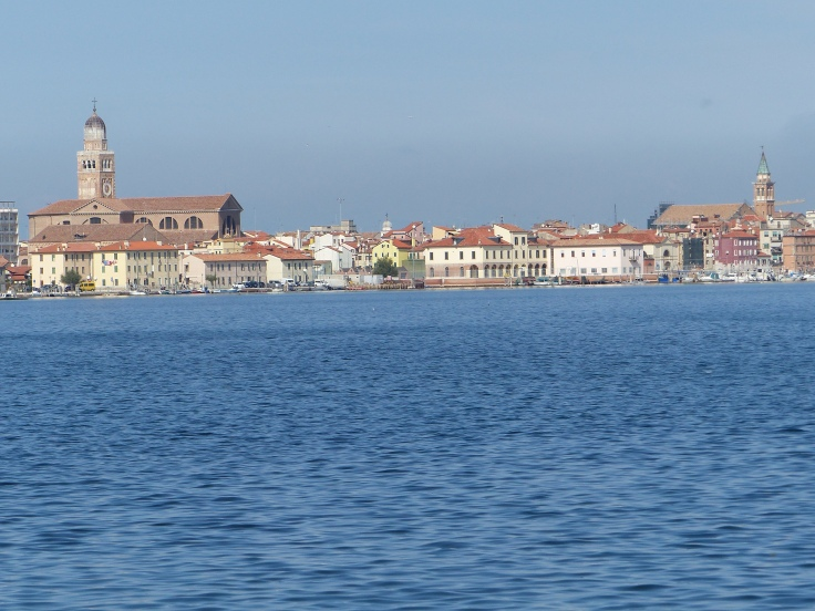 Looking across to Chioggia