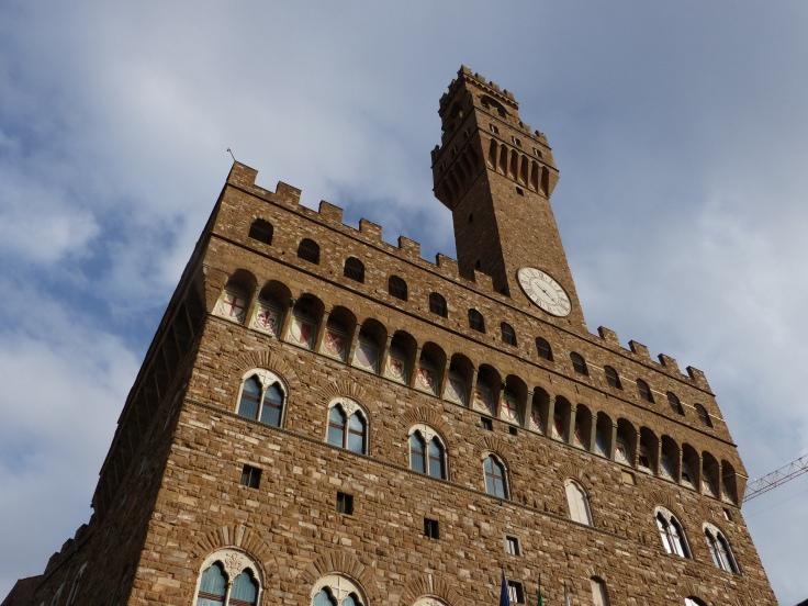 Palazzo Vecchio overlooking the Piazza della Signoria