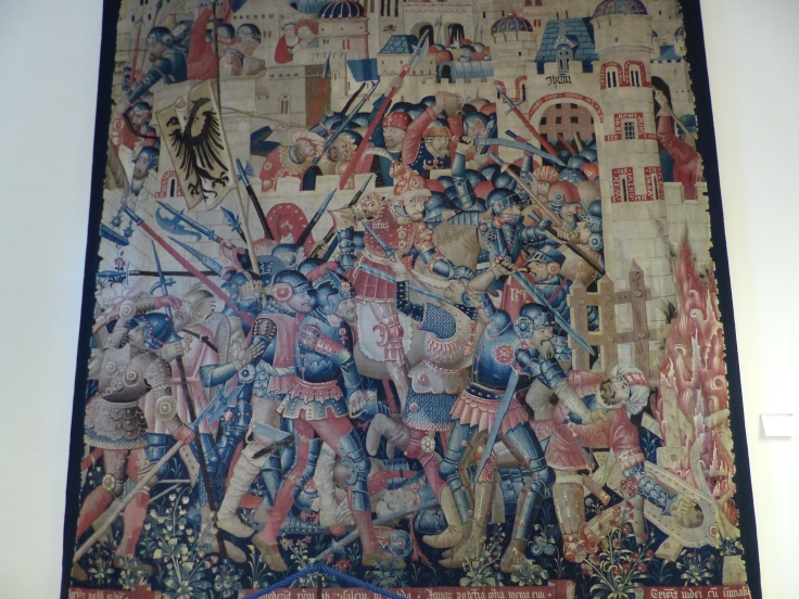 A Flemish tapestry in Florence