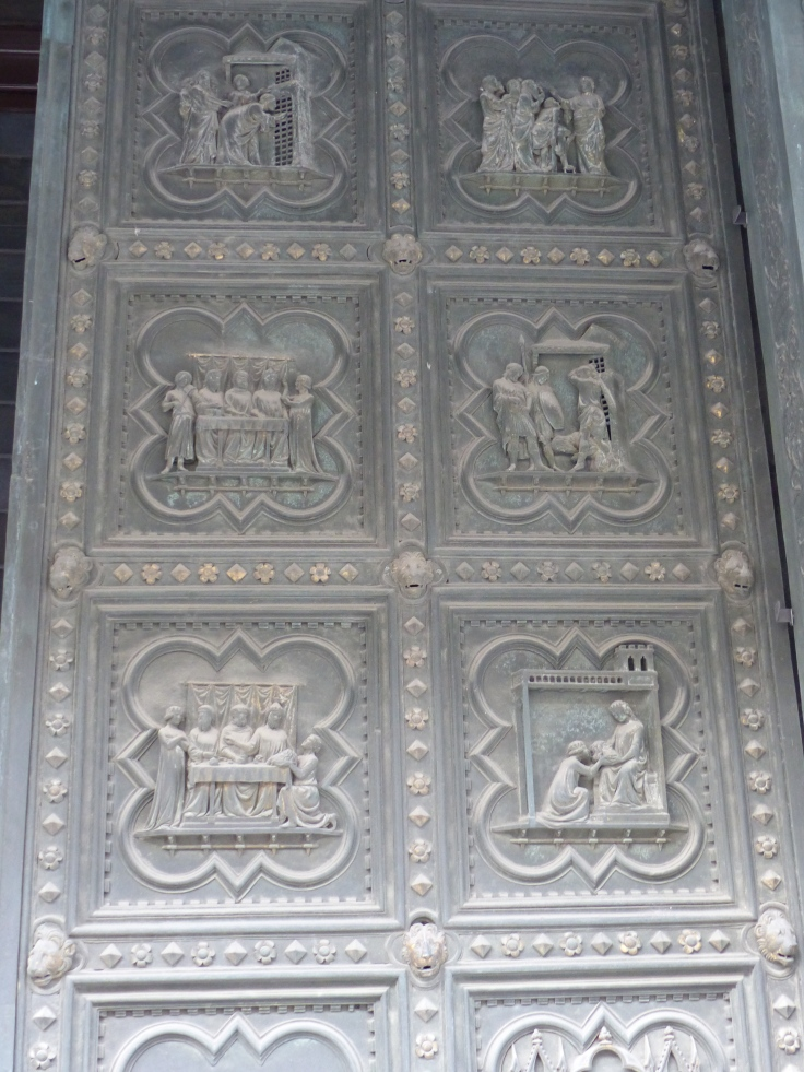 The South doors of the Baptistry